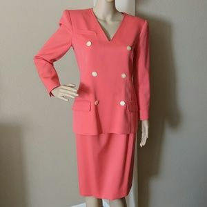 VALENTINO BOUTIQUE SET JACKET & SKIRT